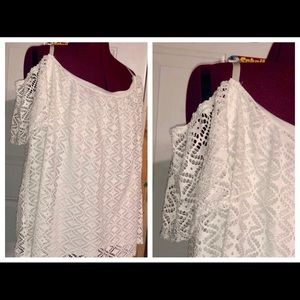 NEW Maurices Plus Size Open Shoulder Top
